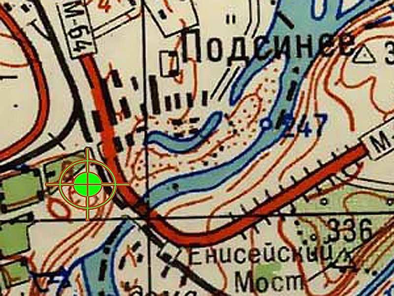 Местоположение трассы Хакасия
